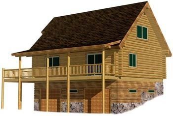 Build it Yourself Log Cabin Retreat Kit
