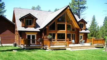 Custom Log Home Designs With Photographs