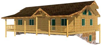 24x44 Eagle Valley 3D Front 350