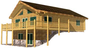 28x40 Eagle Creek 3D Front 350