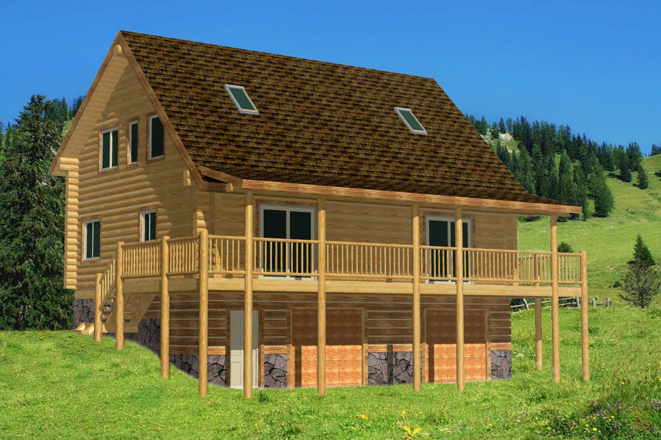 Best log cabin duplex design