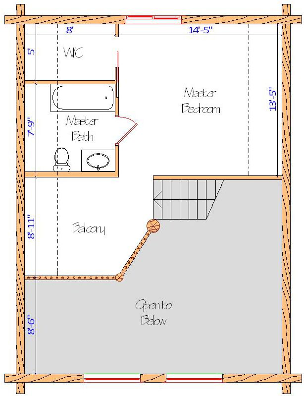 24x32 Elkhorn Chalet Loft Web