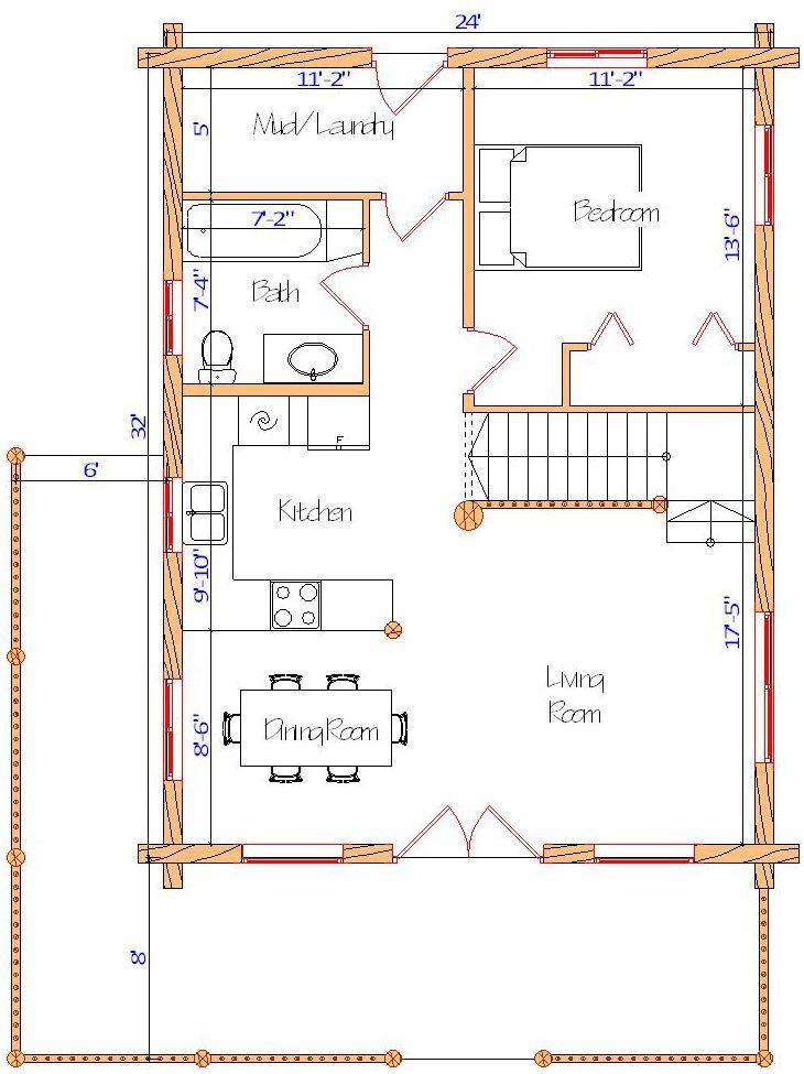 24x32 Elkhorn Chalet Main Web
