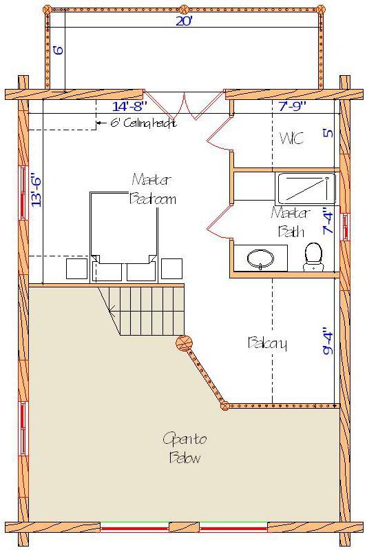 24x32 Elkhorn Grande Loft