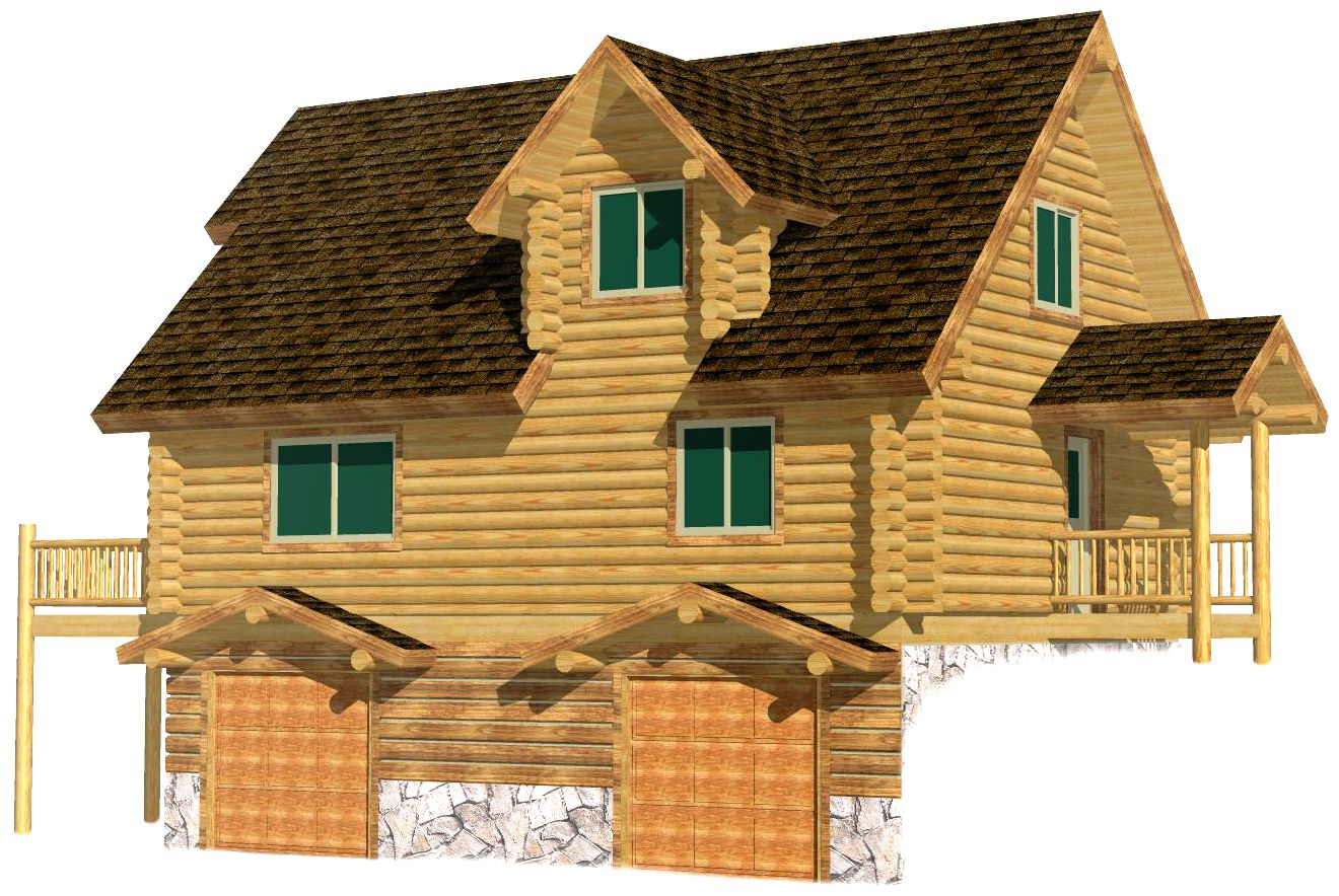 24x32 Elkhorn Valley 3D Rear