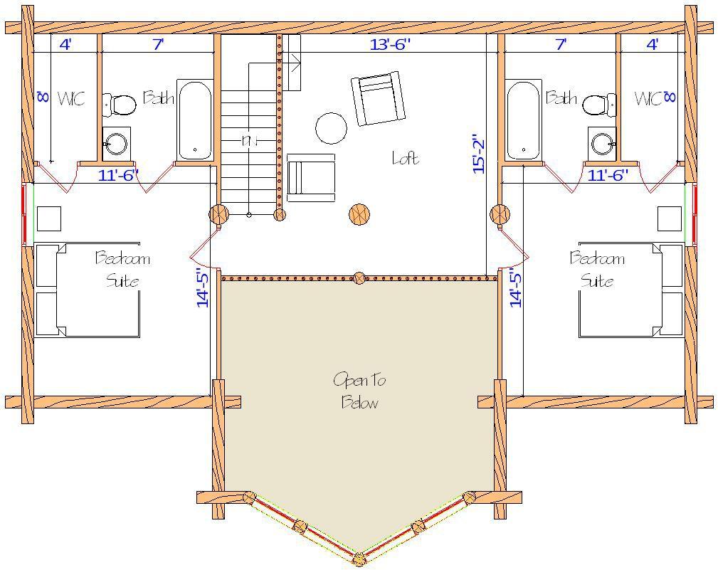 24x42 Spruce Lodge Loft