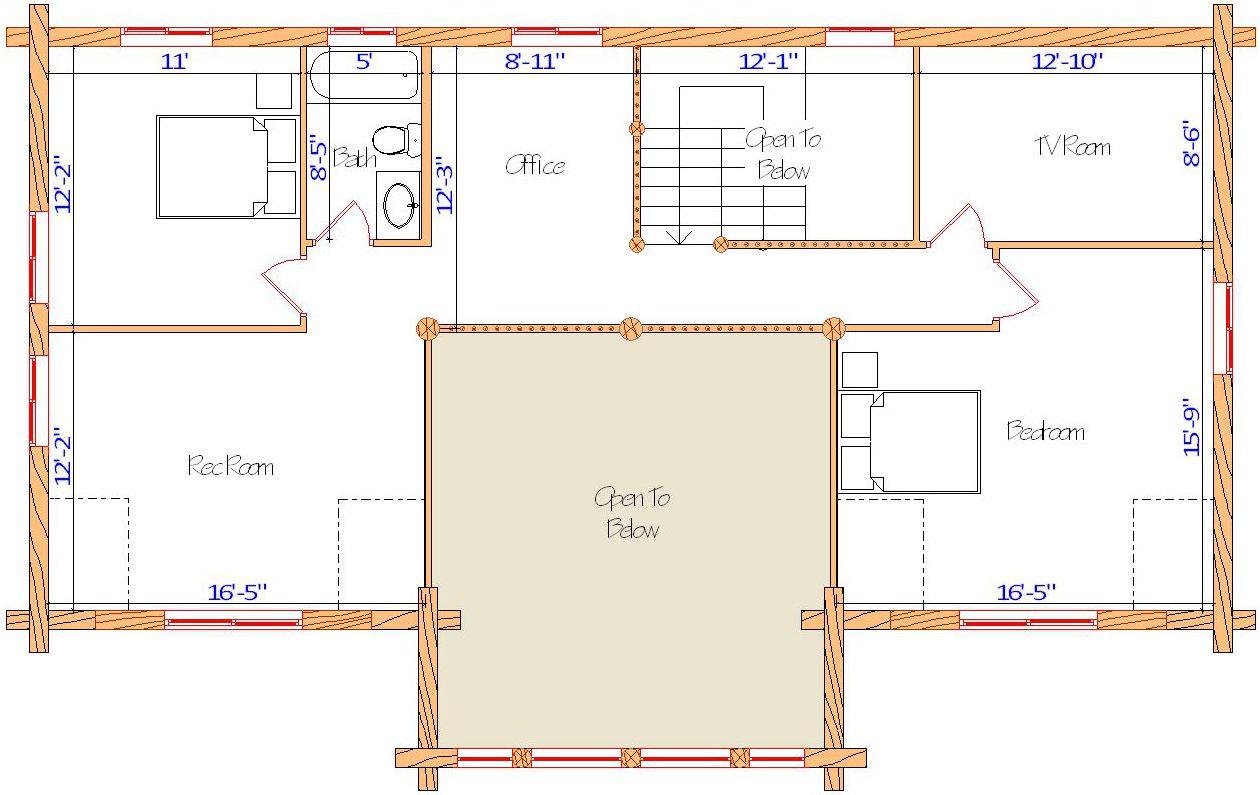 26x52 Lewis & Clark Loft idaho