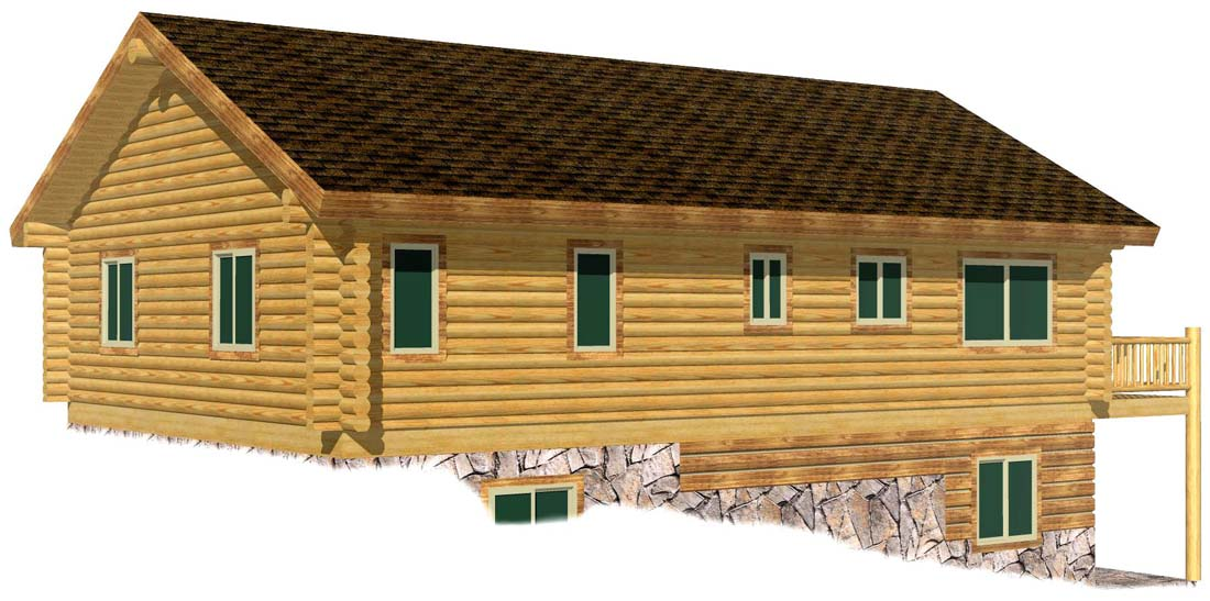 28x40 Eagle Creek 3D Rear