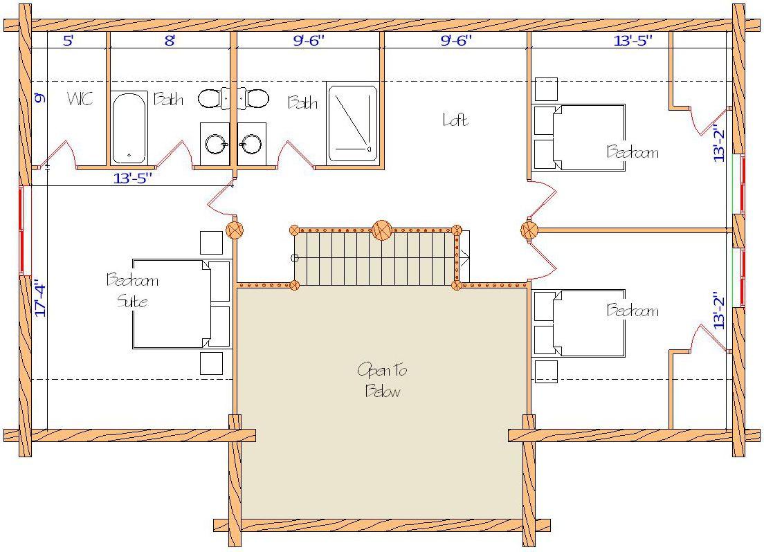 28x48 Alpine Lodge Loft