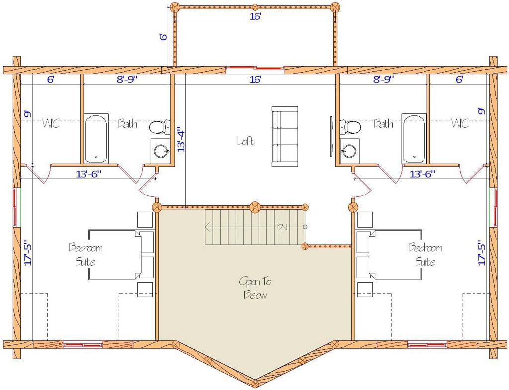 28x48 Ponderosa Loft Floor