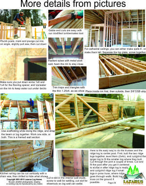 details of log home construction