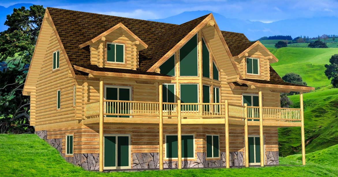 Lazarus log home design ponderosa lodge best efficiency