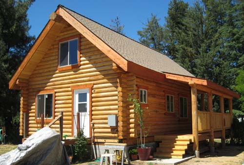 North Fork Backside small log cabin 500