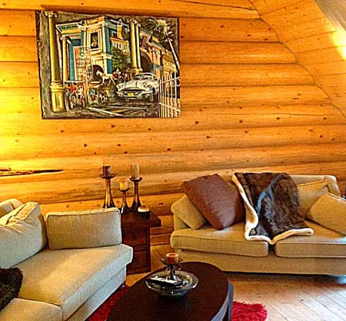 loft rec room for log home kelowna canada