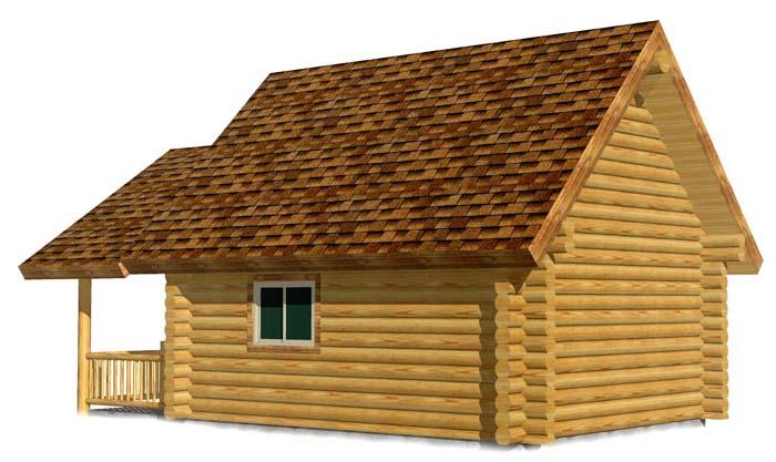 16x20 Garn House 3D Colorado