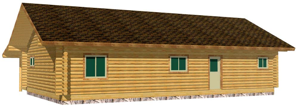 28x48 Eagle Ranch 3D R