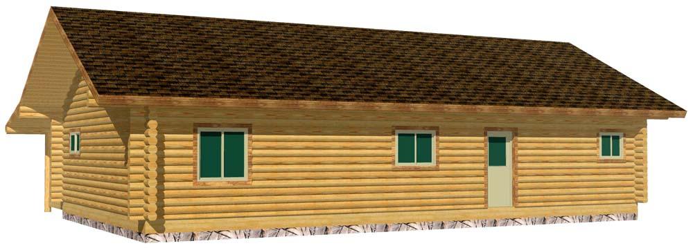 28x48 Eagle Ranch 3D R