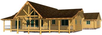 30x58 Highlander Idaho log home ski lodge design in idaho 12 inch logs