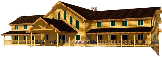 Best Prices on Manufactured Commercial Log Hotel Buildings