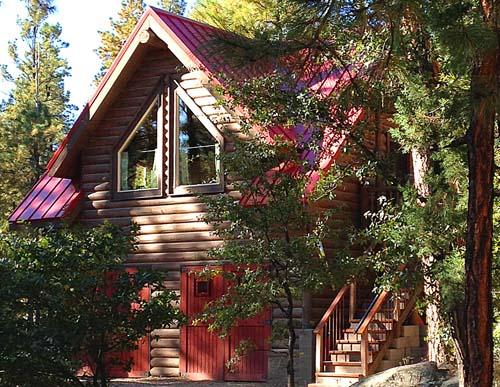 Log sided carriage house and garage 500 Pheonix Arizona