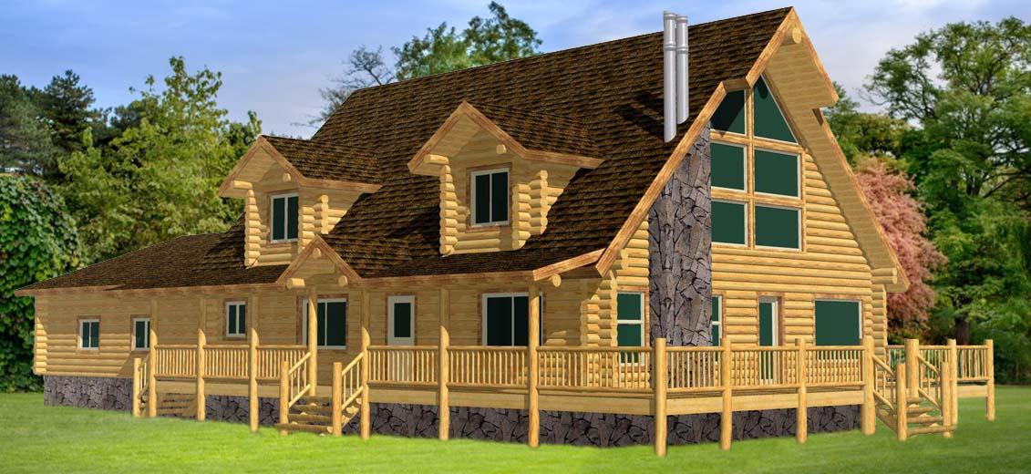 Eastern US Cape Cod Grande design with gar and dorms